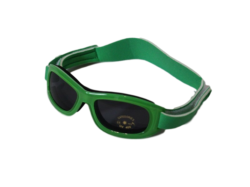 Neoprene Strap Sunglasses – Green