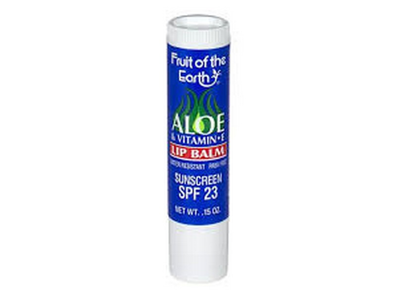 Fruit Of The Earth Aloe Vitamin E Lip Balm With SPF 23