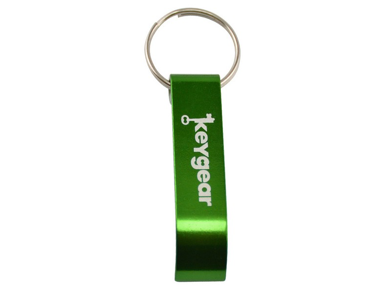 Key Gear Basic Bottle Opener, Green