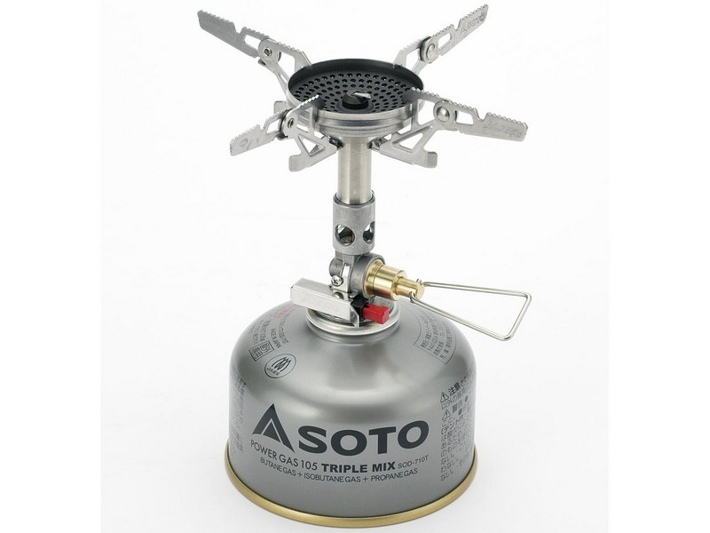 Soto Windmaster Stove with Micro Regulator + 4Flex Combo