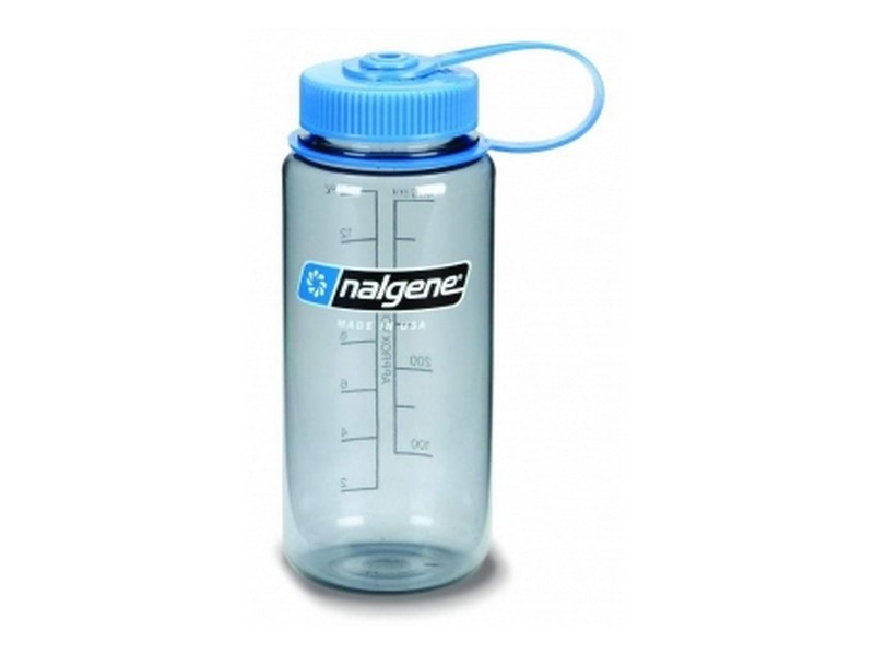 Nalgene Wide Mouth Bottle – 500ml, grey/blue