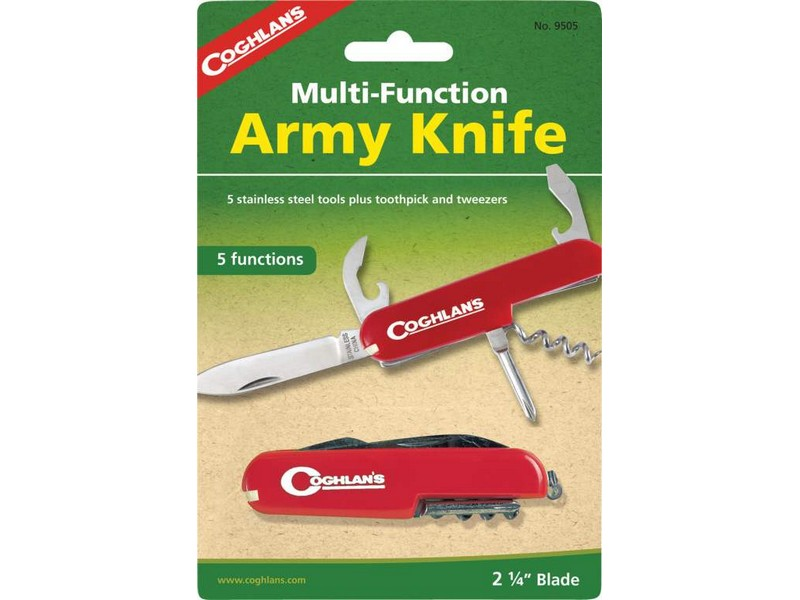 Coghlans Army Knife 5 Function
