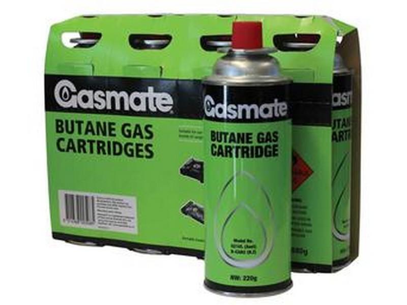 Gasmate 220gm Butane Canisters