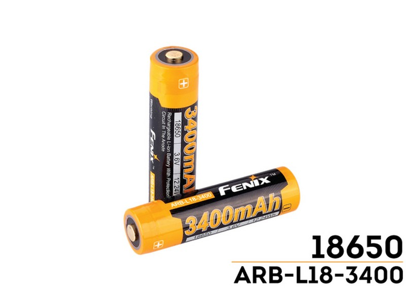 Fenix Rechargeable Battery 18650 ARB-L18-3400mAh