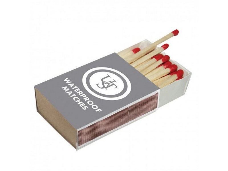 UST Waterproof Matches – 4 Boxes