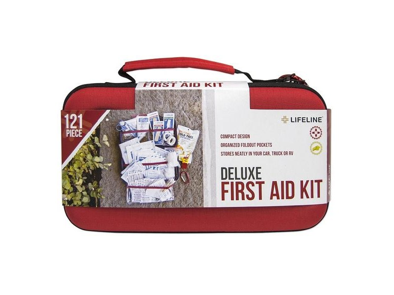 Lifeline Deluxe Hard Shell First Aid Kit
