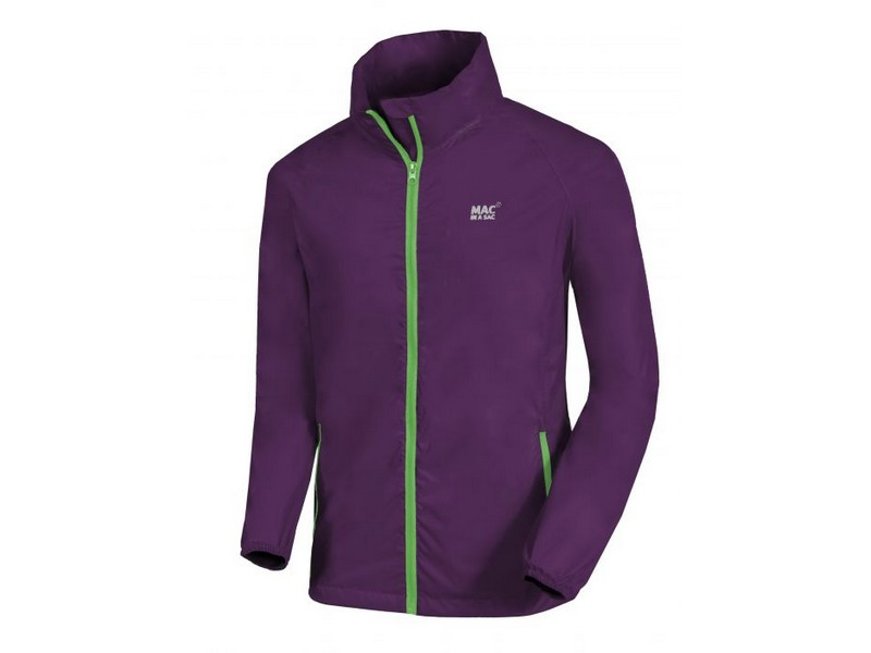 Mac In A Sac Origin Waterproof Jacket – Grape