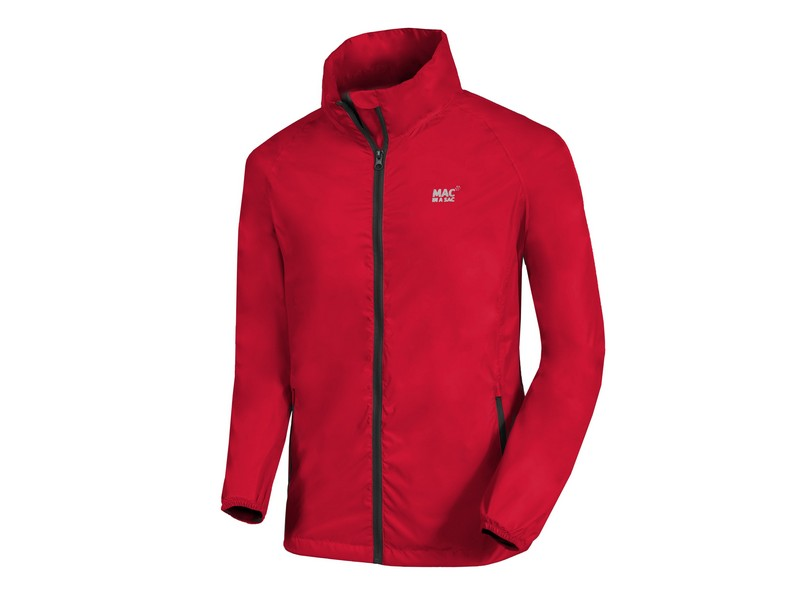 Mac in a Sac Origin Waterproof Jacket – Lava Red