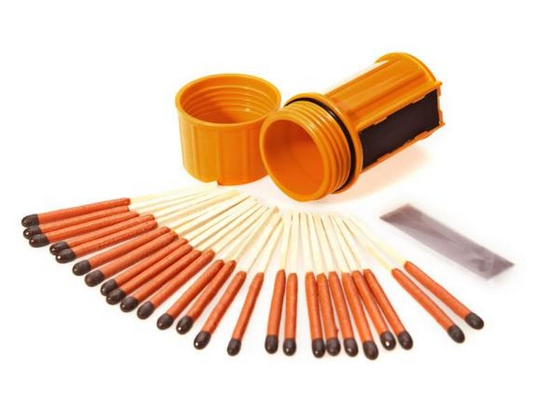 UCO Stormproof Matches In Container Orange