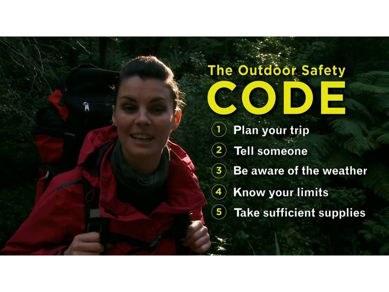 The Outdoor Safety Code