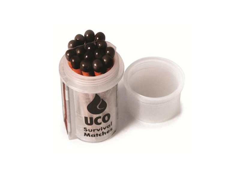 UCO Survival Matches In Container, 15 Pack