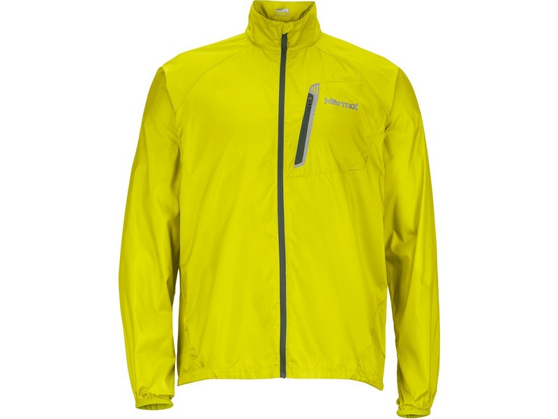 Marmot Trail Wind Jacket – Bright Lichen