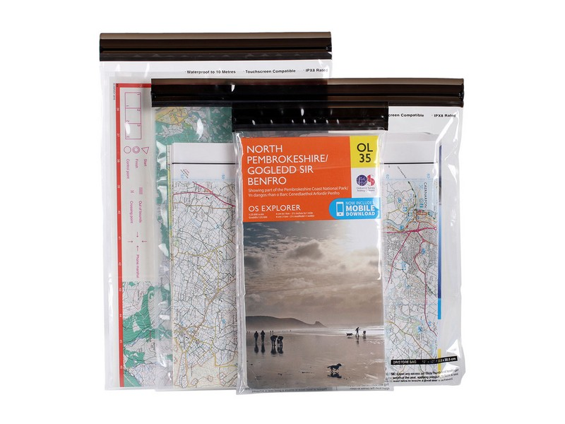 Lifeventure DriStore LocTop Bags – Maps 3 Pack