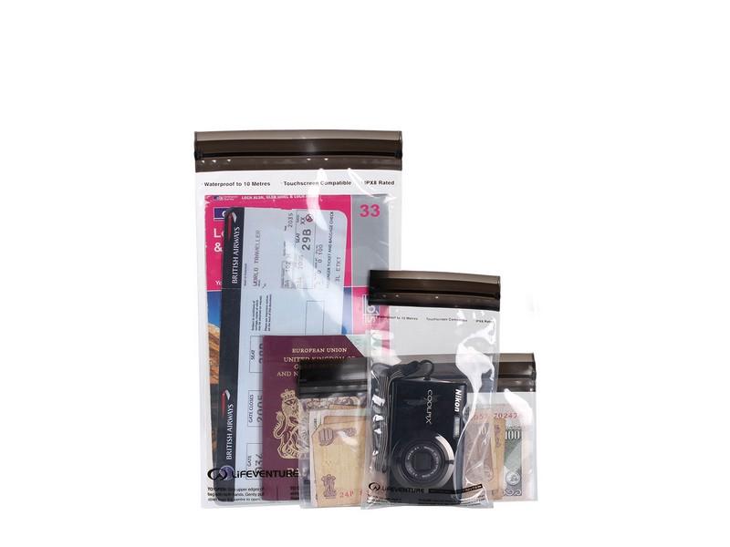 Lifeventure DriStore LocTop Bags – Valuables 3 Pack