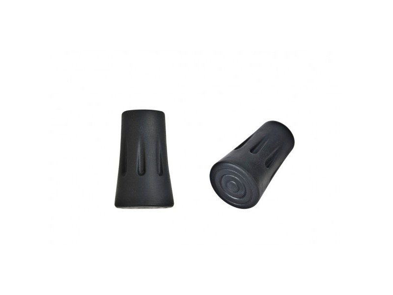 Vipole Trekking Rubber Round Tips (pair)