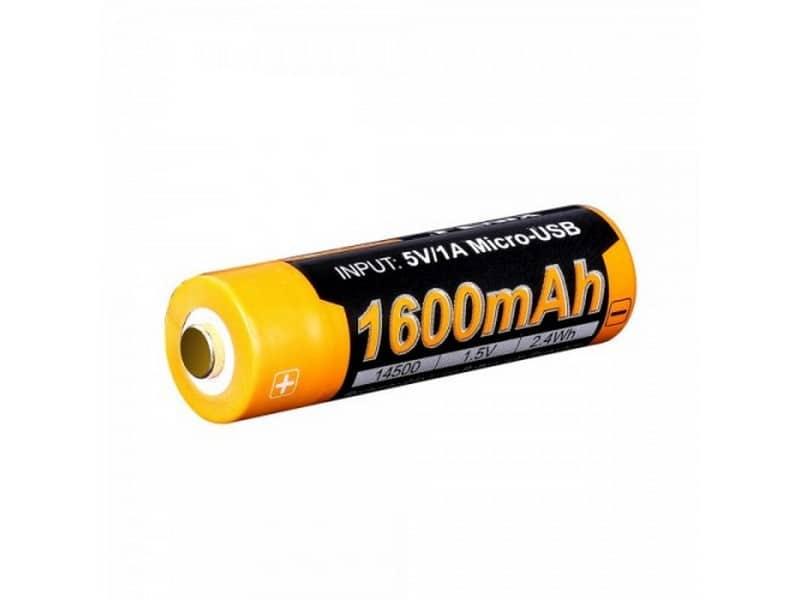 Fenix 1600U USB Rechargeable AA Lithium-ion Battery