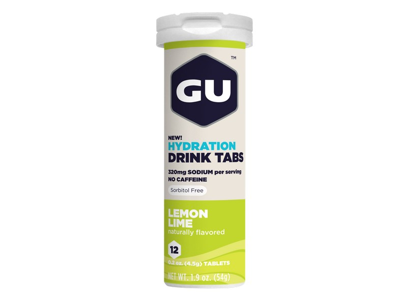 GU Hydration Drink Tabs Lemon Lime