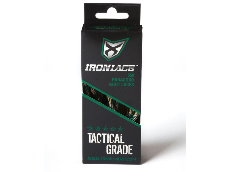 Ironlace Paracord Laces Black
