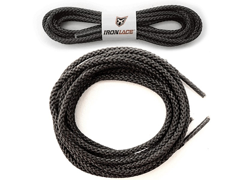 Ironlace Boot Laces 114cm Black