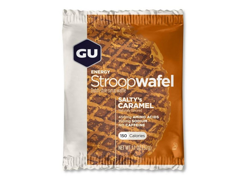 GU Energy Stroopwafel Salty Caramel Single
