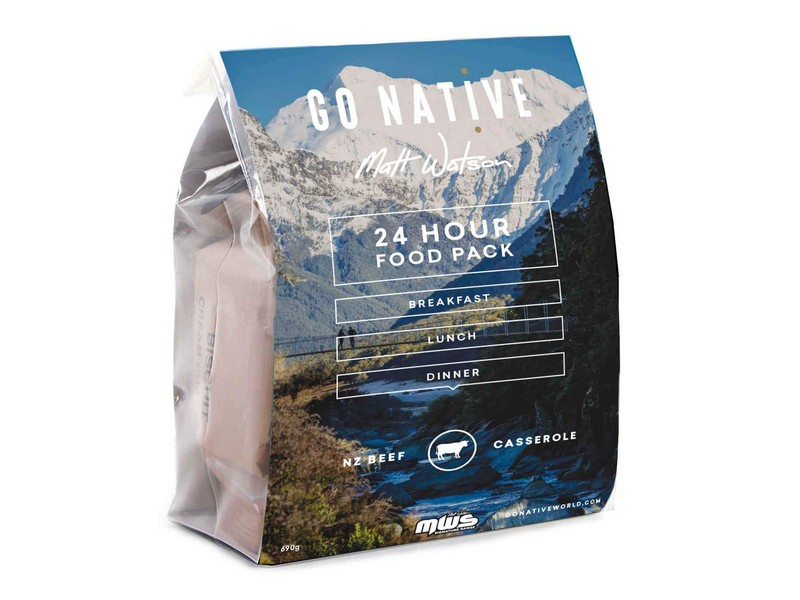 Go Native 24hr Food pack – Beef Casserole