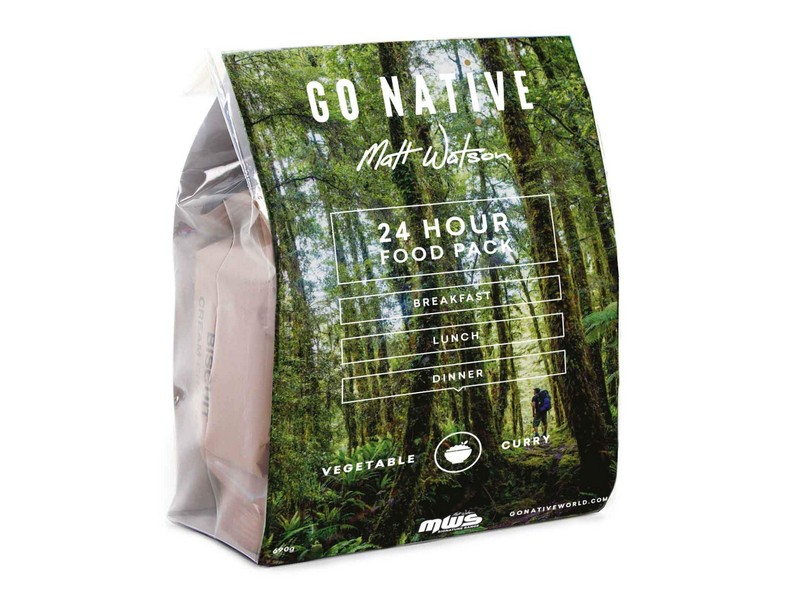 Go Native 24hr Food Pack – Vegetable Curry
