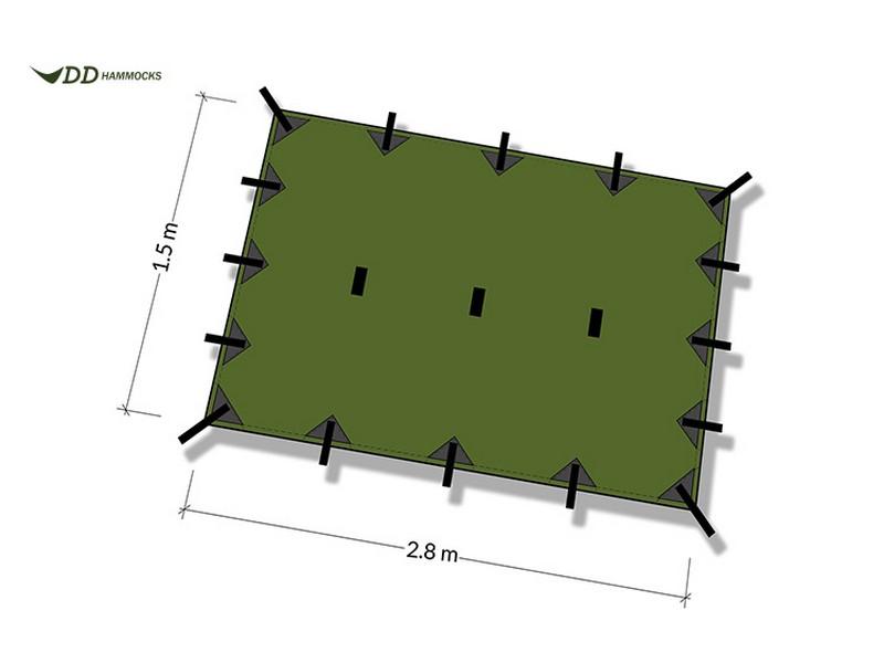 DD Hammocks Tarp Small 2.8 x 1.5m