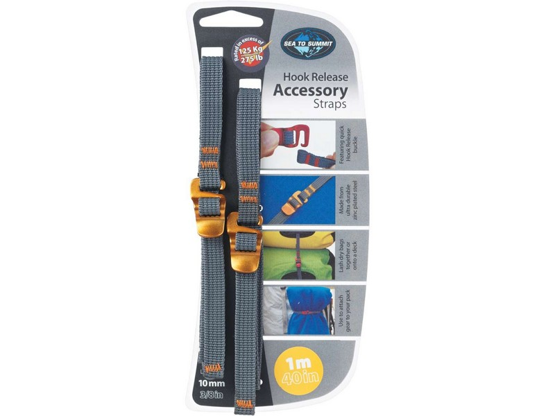 Sea to Summit 10mm Accessory Straps with Hook Release