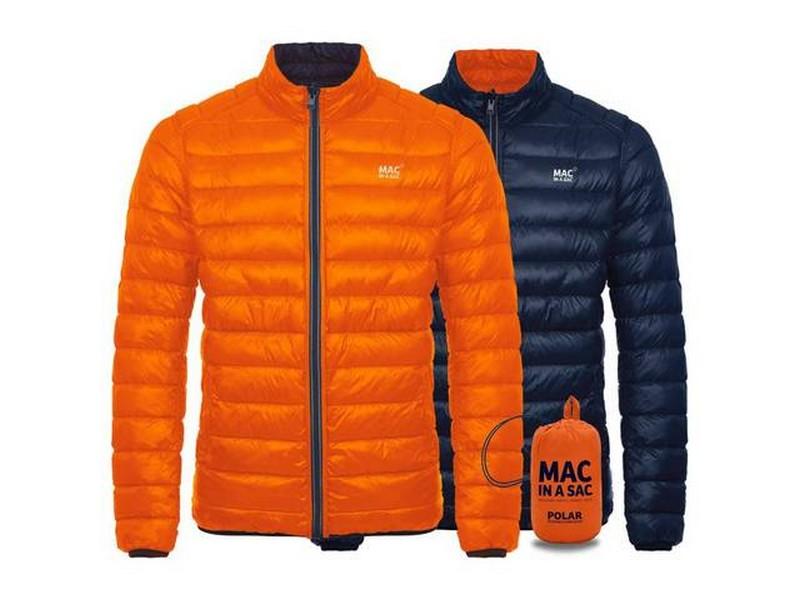 Mac In A Sac Men's Reversible Polar Down Jacket