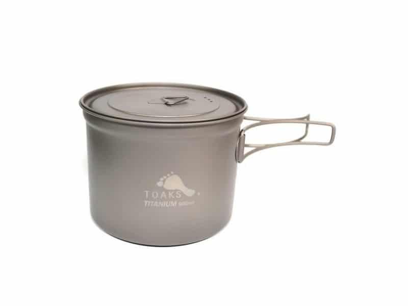 Toaks Titanium Pot 900ml D115mm Pot