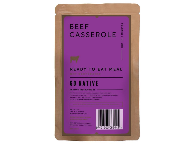 Go Native Beef Casserole