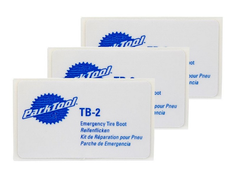 Park Tool Emergency Tyre Boot Patch 3pce