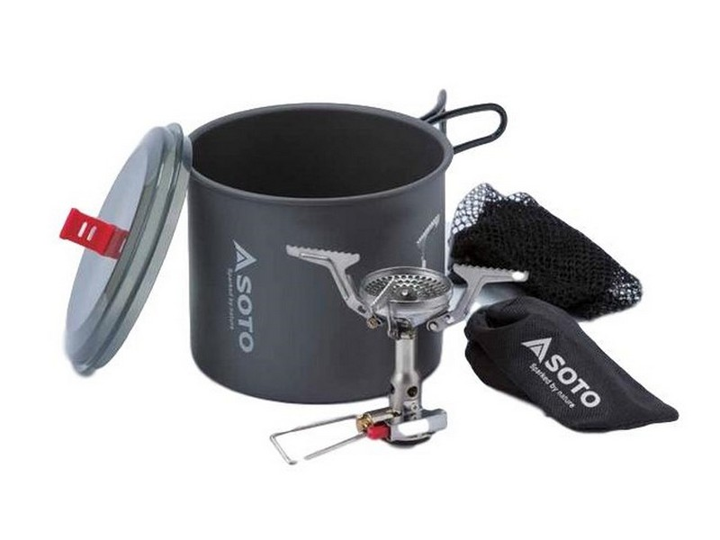 Soto Amicus Stove With Igniter + New River Pot