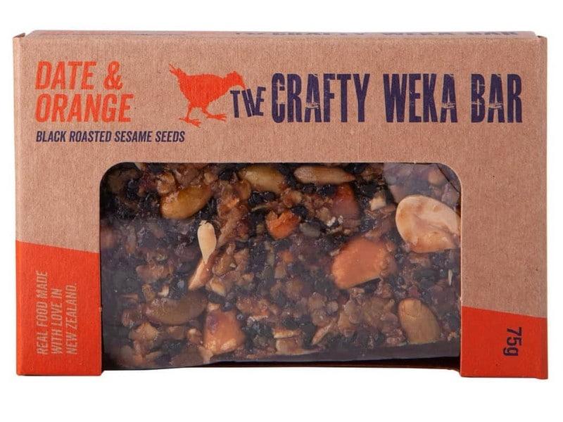 Crafty Weka Bar – Date And Orange 75g