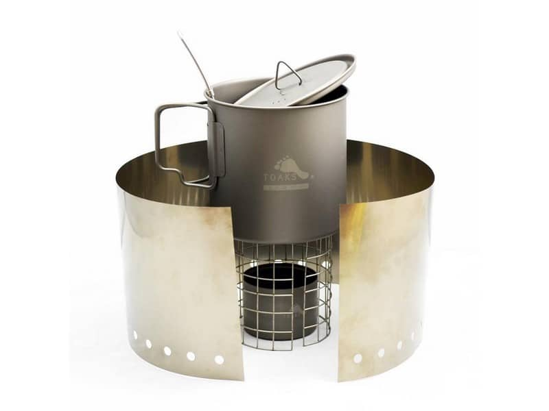 Toaks Ultralight Titanium Alcohol Stove Cook System