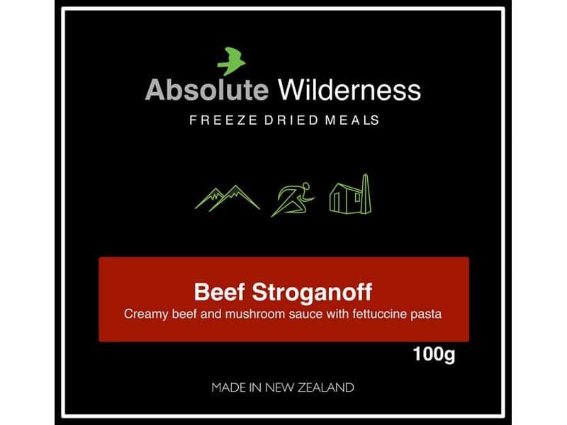 Absolute Wilderness Beef Stroganoff