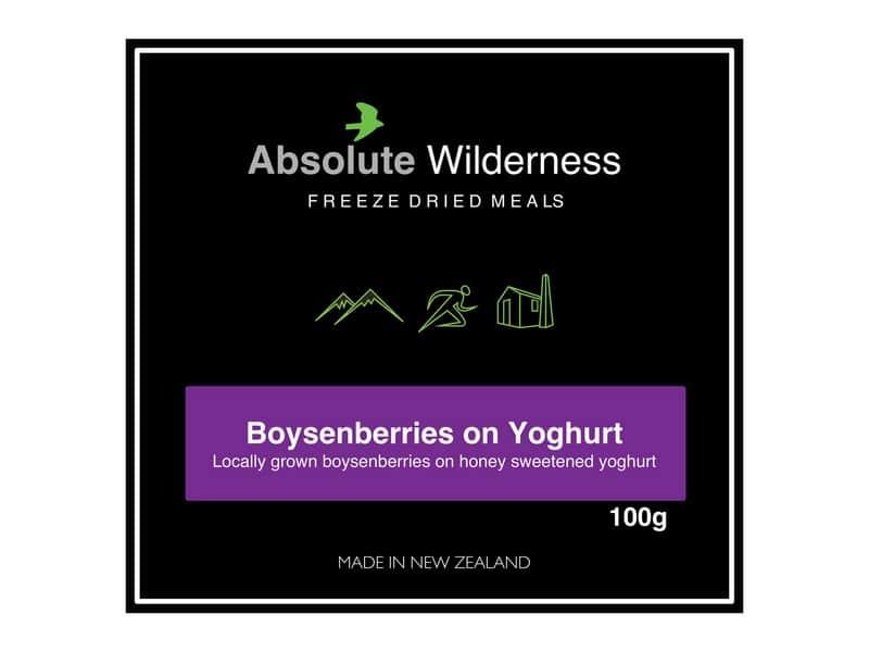 Absolute Wilderness Boysenberries On Yogurt
