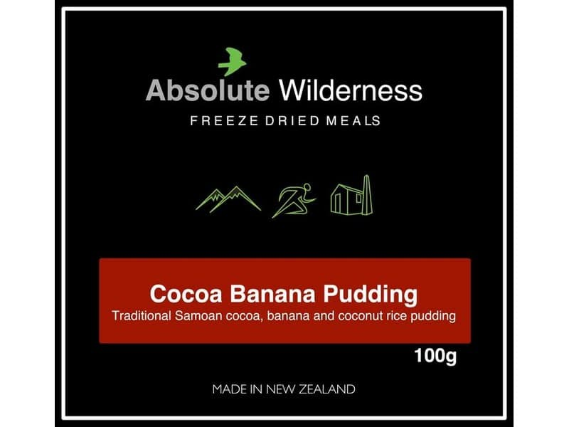 Absolute Wilderness Cocoa Banana Pudding