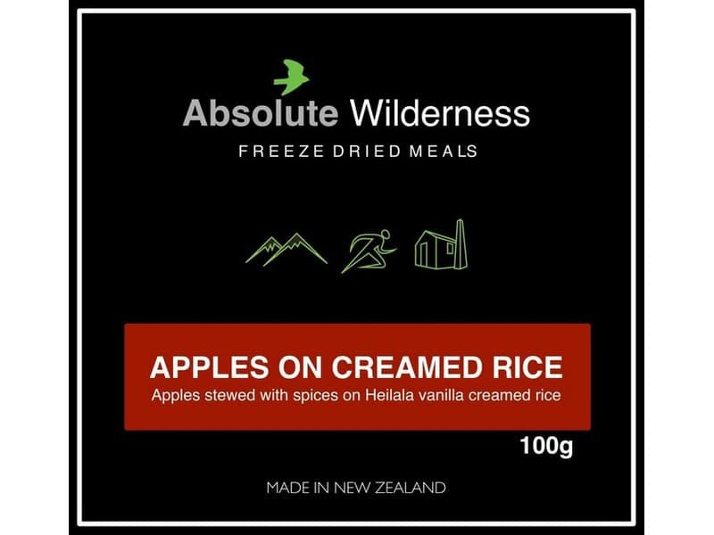 Absolute Wilderness Apples On Creamed Rice