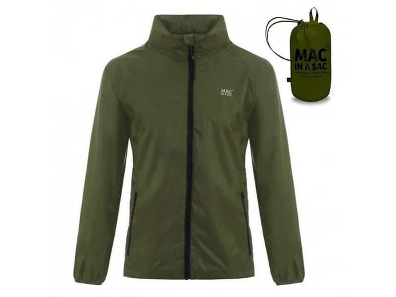 Mac In A Sac Origin Waterproof Jacket – Khaki Green
