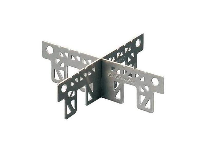 Evernew Titanium Alcohol Stove Trivet / Cross Stand
