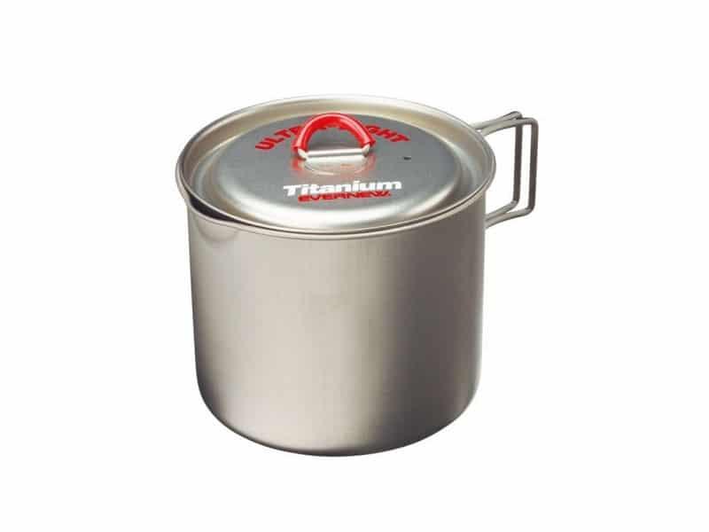Evernew Titanium Mug Pot 900